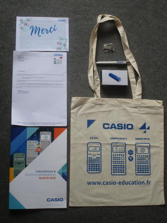 Lot participation Noël Casio