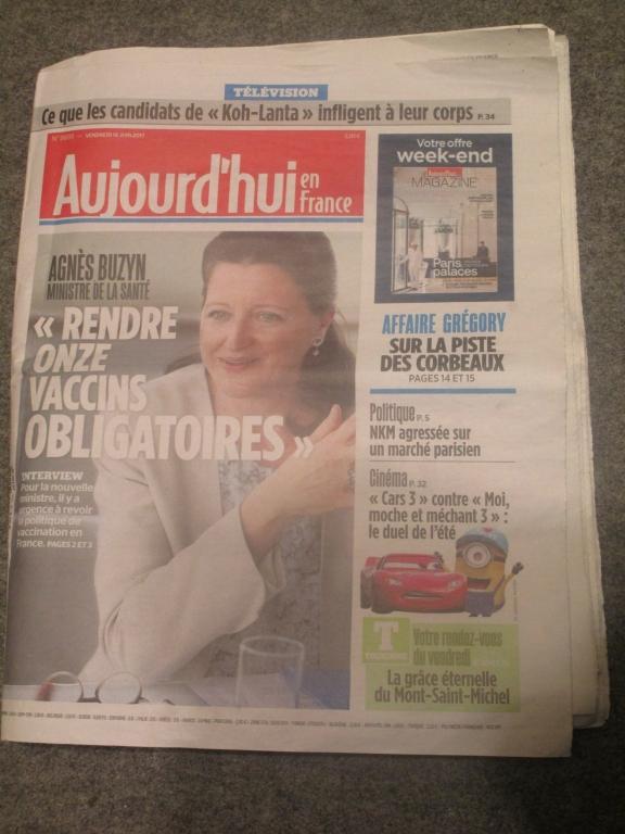 Le Parisien, 16 juin 2017