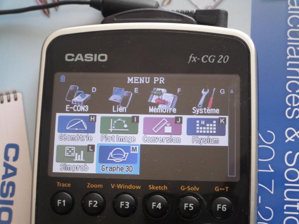 fx-CG20 + apps Graph90+E/fx-CG50