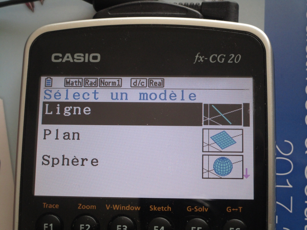 fx-CG20 + app 3D Graph90+E/CG50