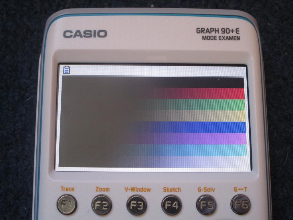 Casio Graph 90+E + mire Python