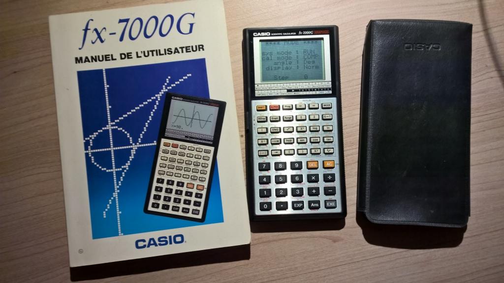 Casio fx-7000G (set complet)