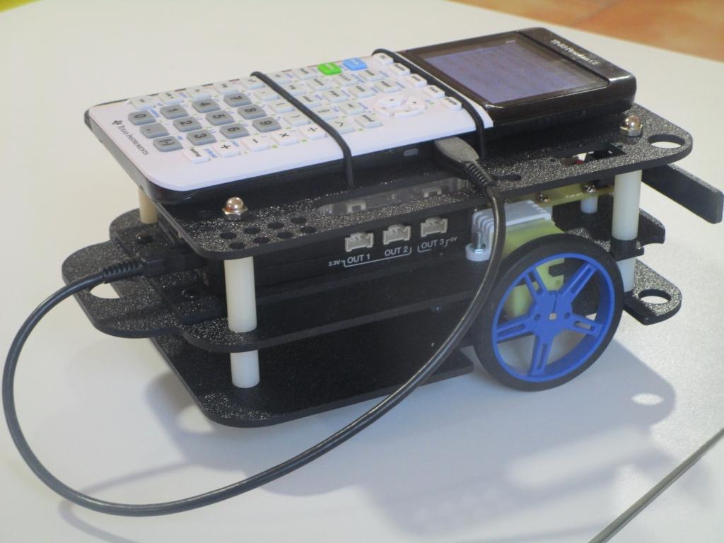 TI-Robot E3, TI-Innovator, 83PCE