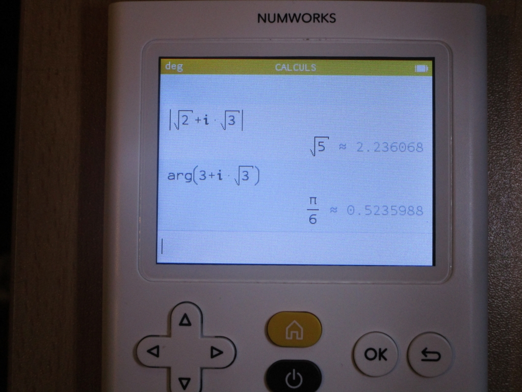 NumWorks + 10.0.0 bêta