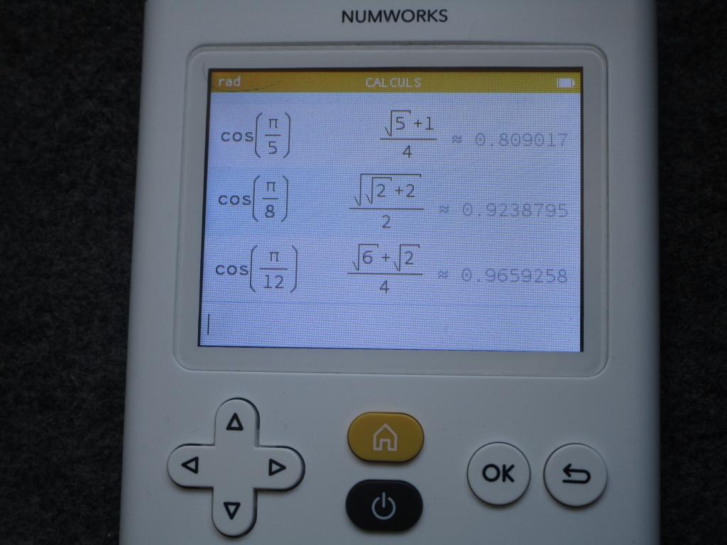 NumWorks + firmware tiers 10.0.0