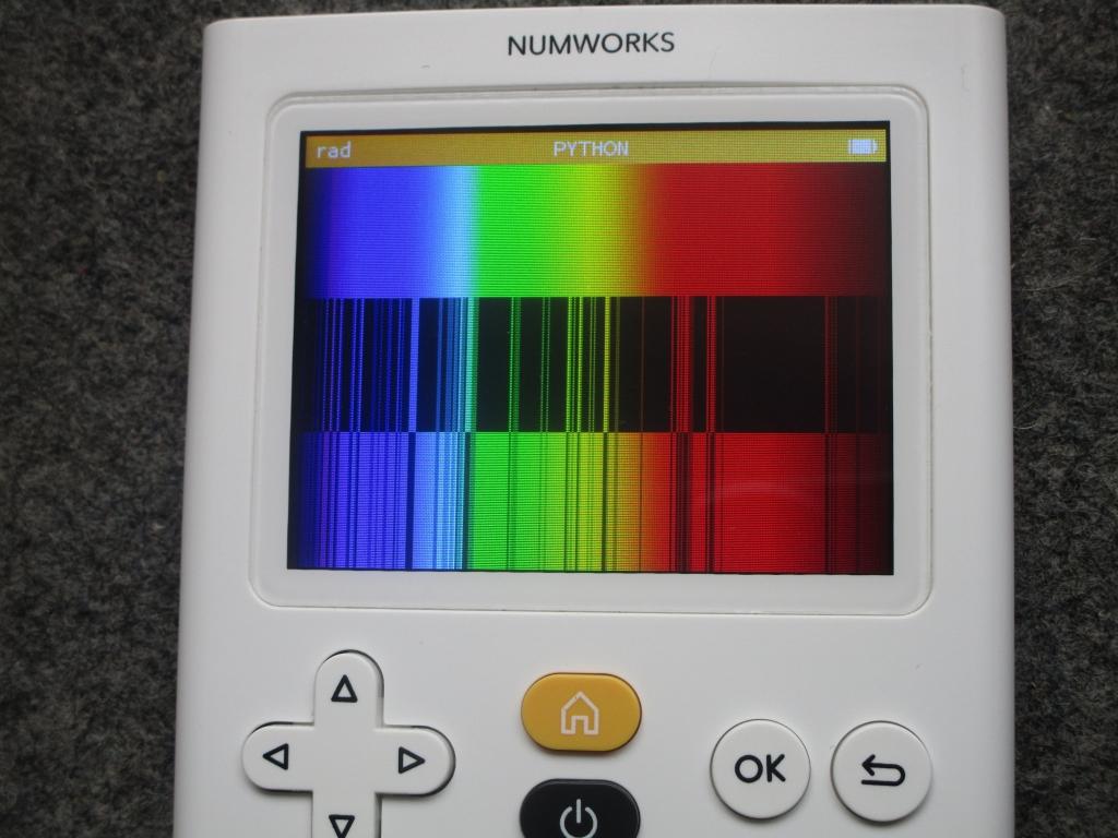 NumWorks + spectre Azote