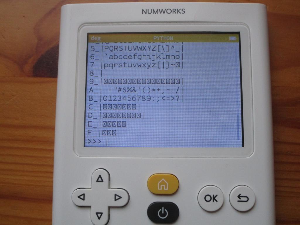 NumWorks v11