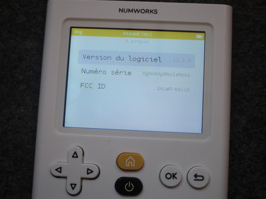 NumWorks v12.2.0