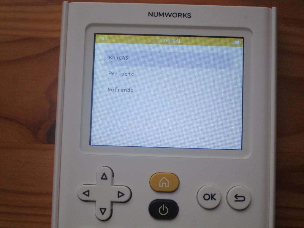 NumWorks + Delta