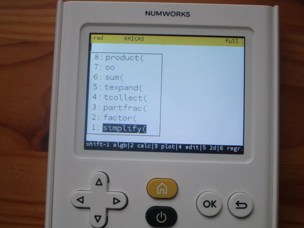 NumWorks + Delta + KhiCAS