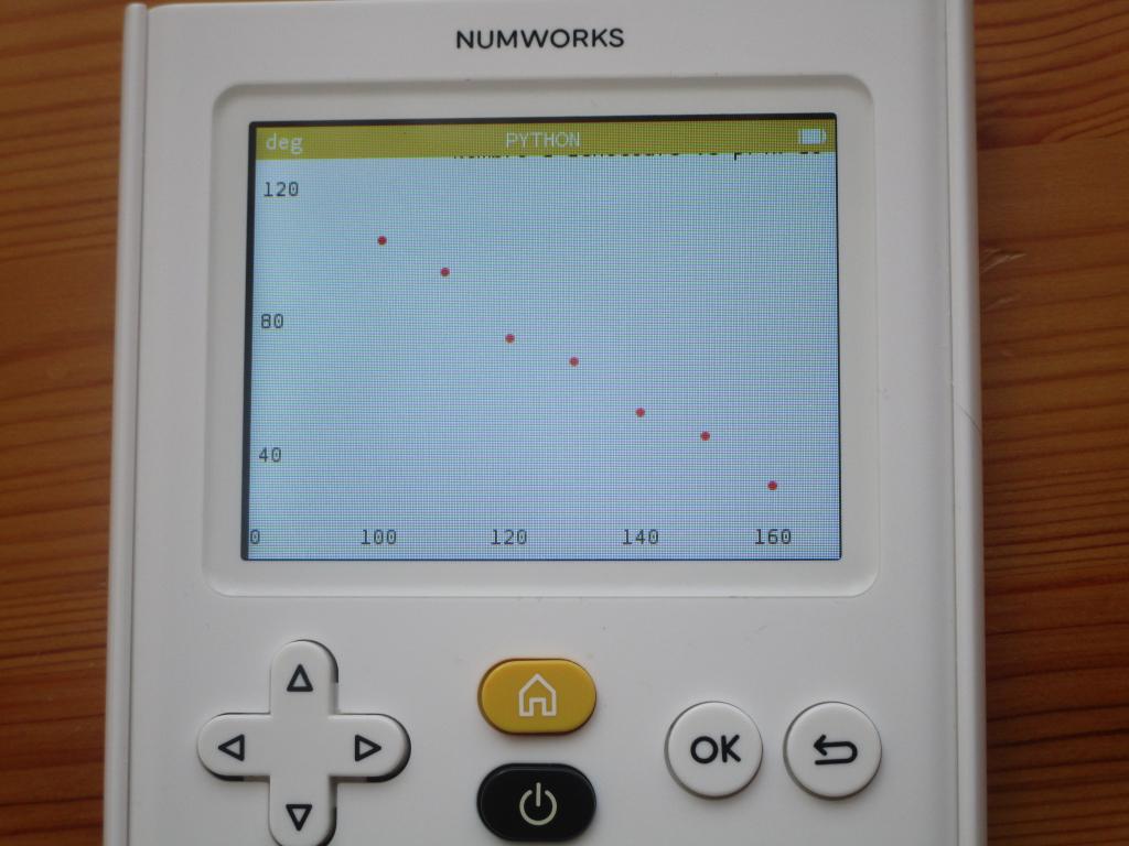 NumWorks v. 13.2.0