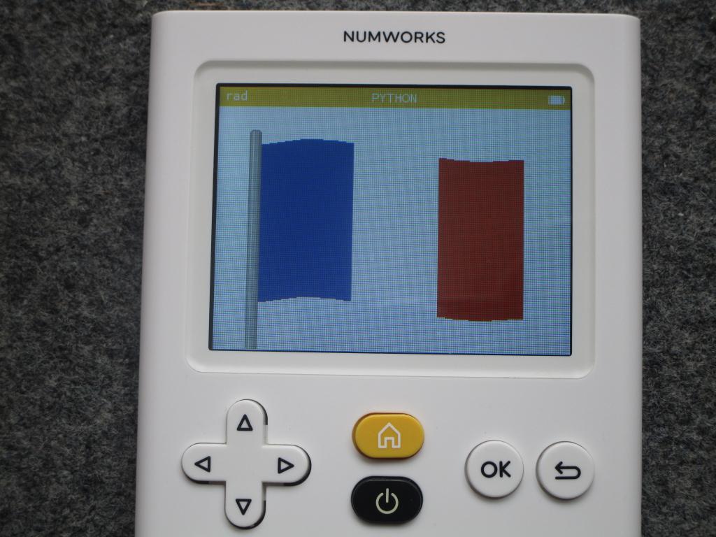 NumWorks + 14 juillet 2020