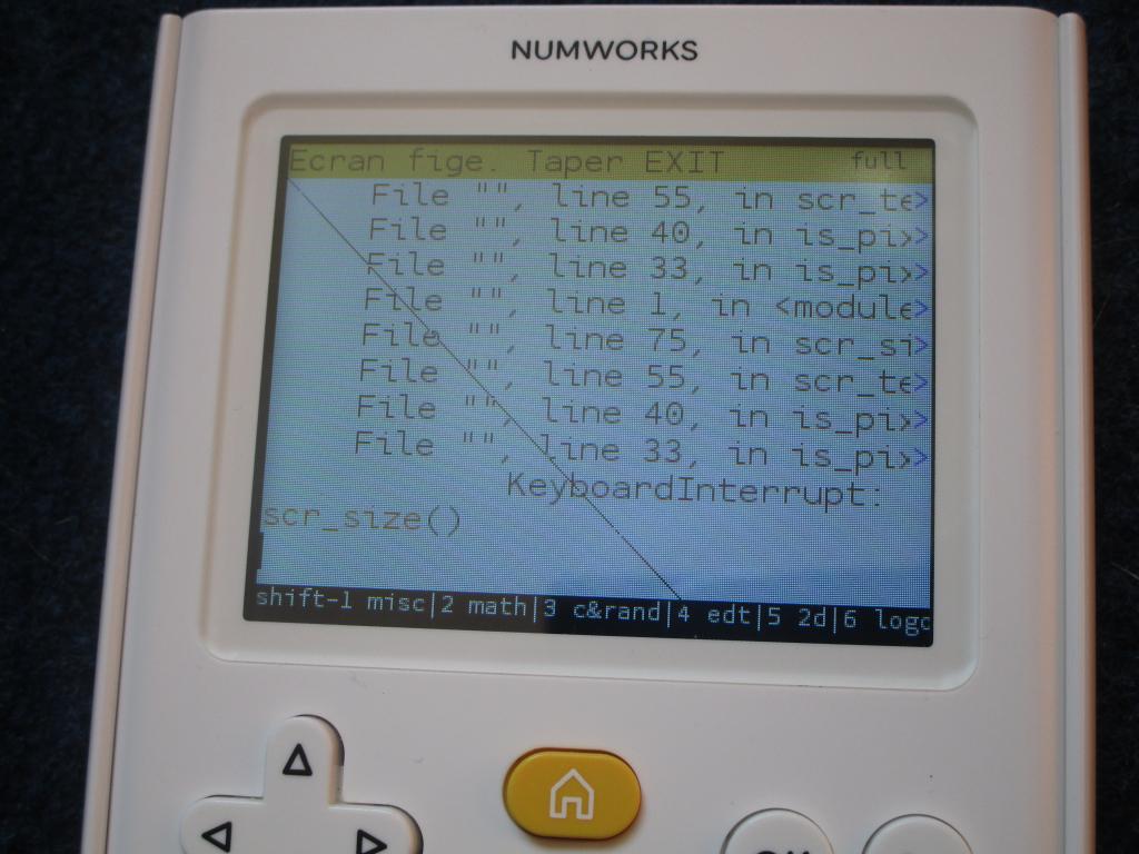 NumWorks: Delta + KhiCAS