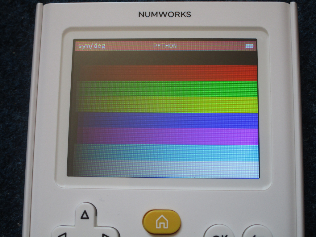 NumWorks + mire Python