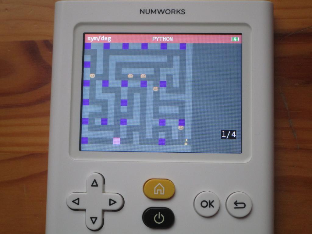 NumWorks + NUUM 2D