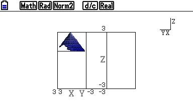 Graph3D Cone2 on FX-CG20 OS3.10