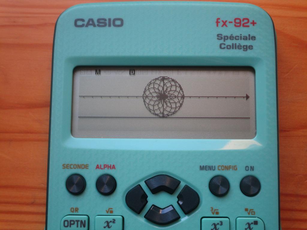 fx-92+SC + rosace rhombique