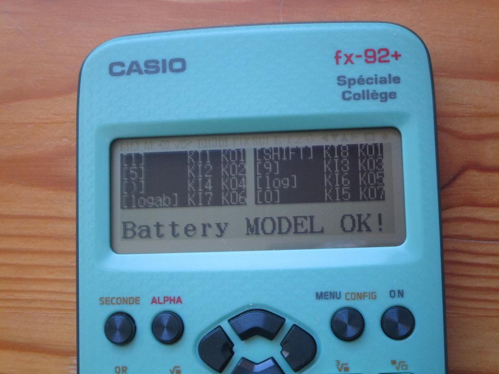 fx-92+SC : diagnostic 8