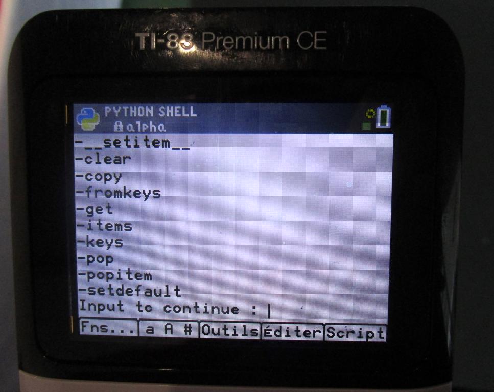 explmod() 83 Premium CE Python