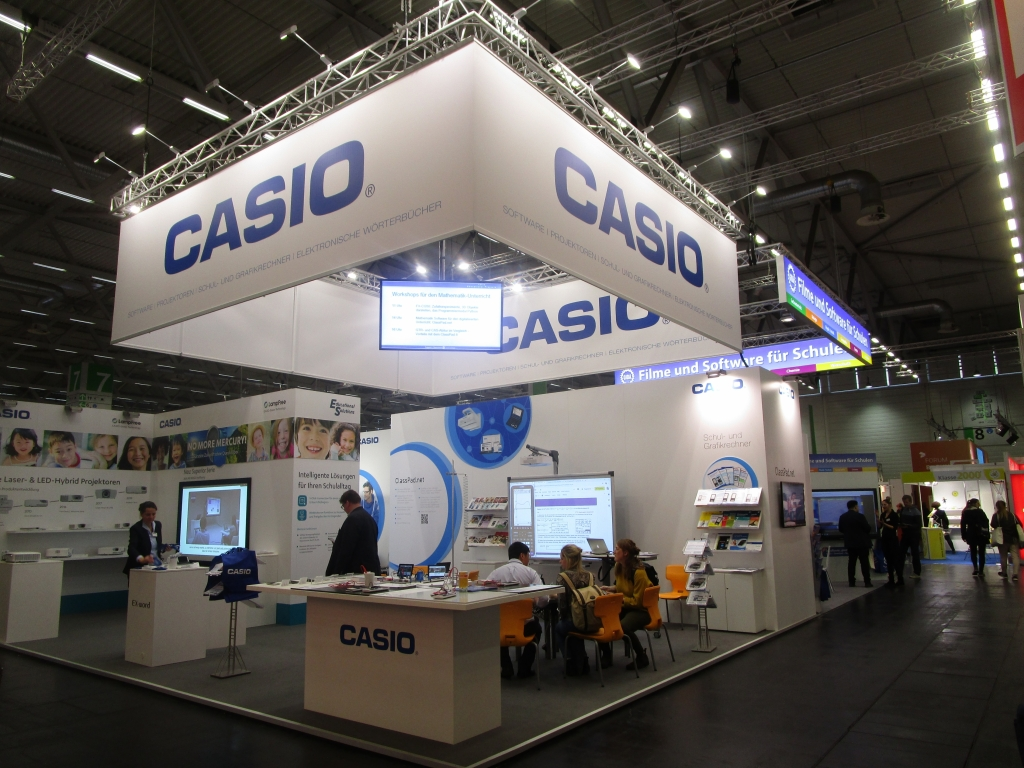 Didacta 2019, stand Casio