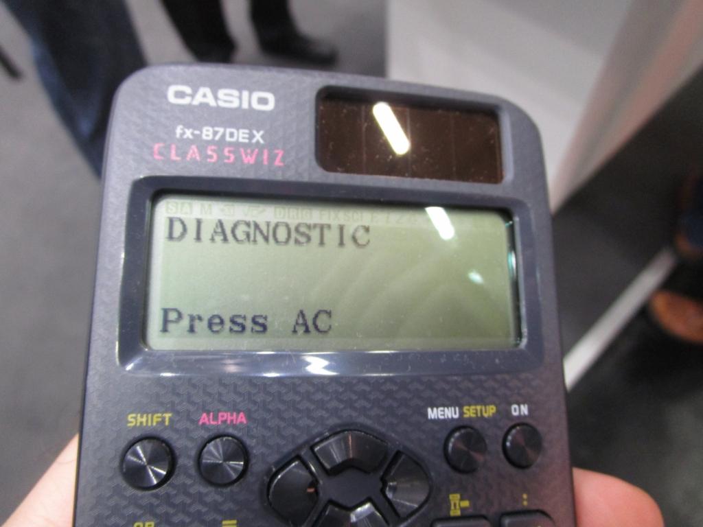 Stand Casio, Didacta 2019