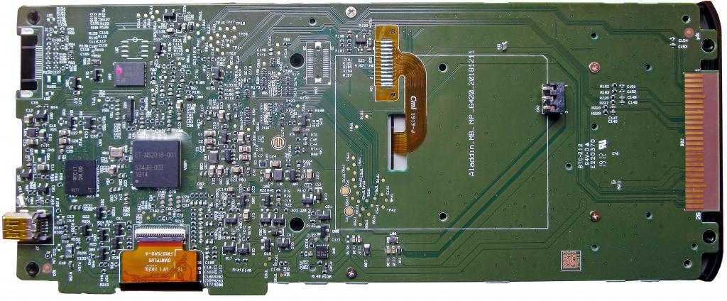 PCB TI-Nspire CX II-T CAS rev AH