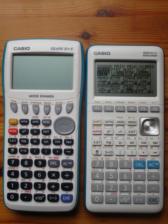 Casio Graph 35+E + Graph 35+E II