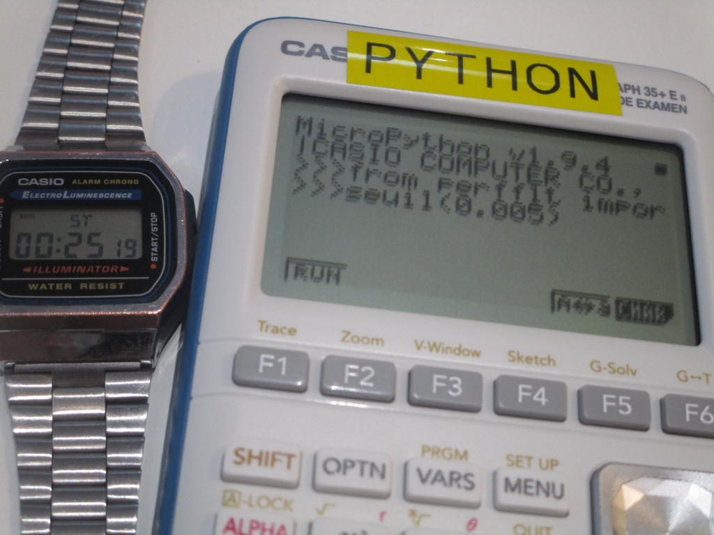 Casio Graph 35+E II + OS 3.05