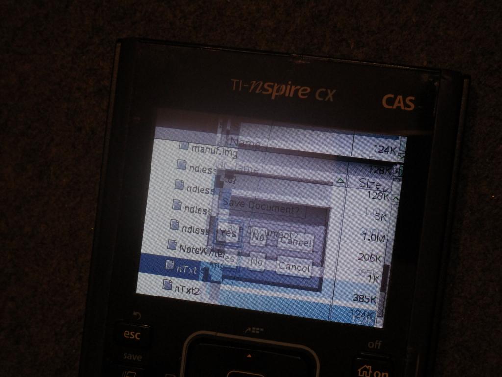 TI-Nspire CX CAS + nTxt