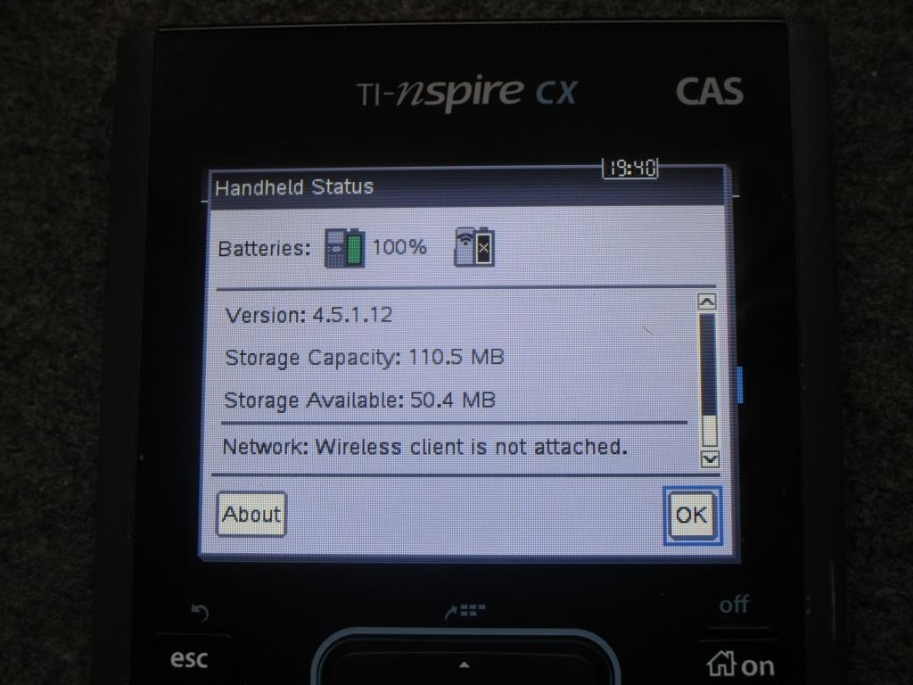 TI-Nspire CX CAS 4.5.1 + nClock
