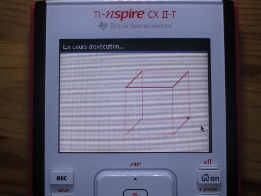 TI-Nspire CX II-T + Raumigel
