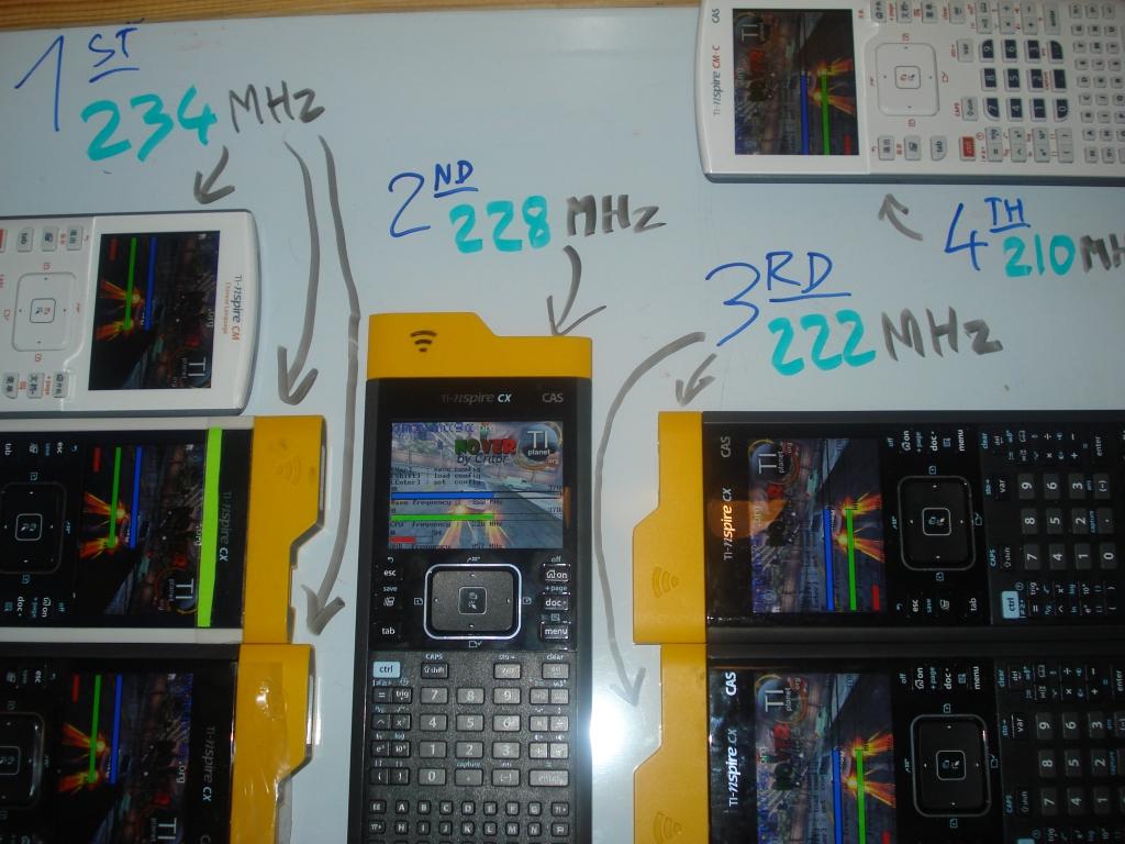 TI-Nspire CX/CM overclocking