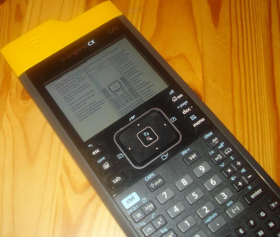 TI-Nspire CX + PDF reader