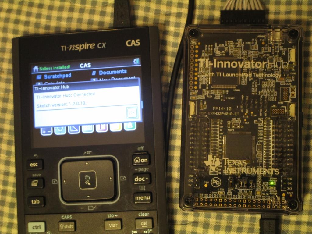 TI-Innovator + OS 1.2.0.18