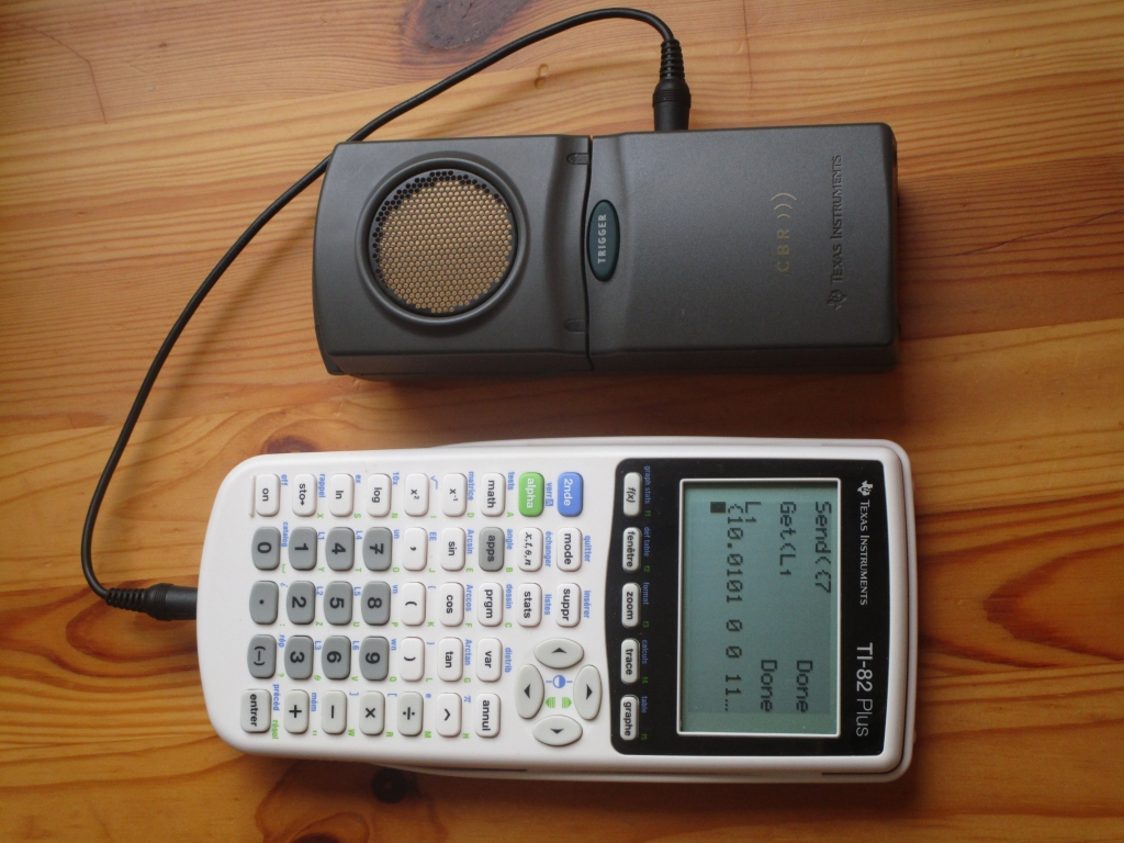 TI-82+ & TI-CBR