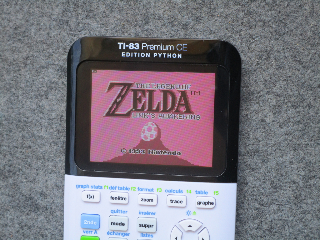 83PCEEP + TI-Boy CE (Zelda)