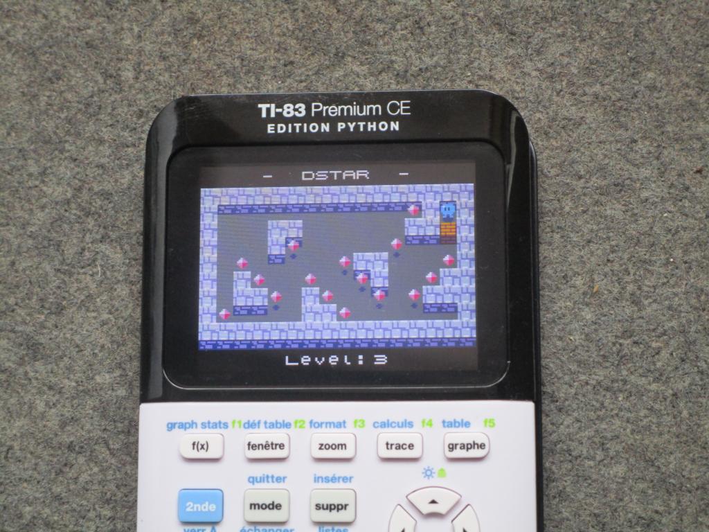 TI-83 Premium CE Python + DStar