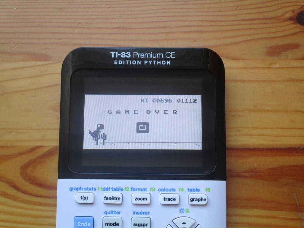 TI-83 Premium CE + Dino Run CE