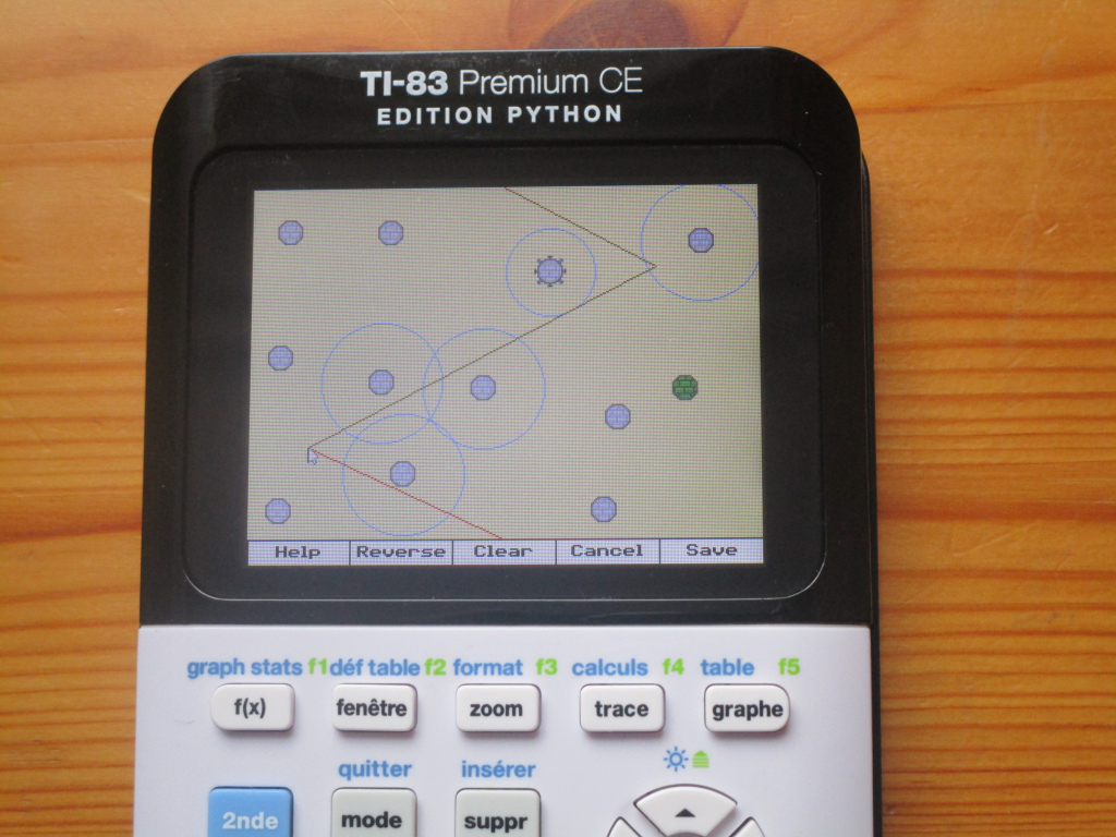 TI-83PCE + Tower Defense CE