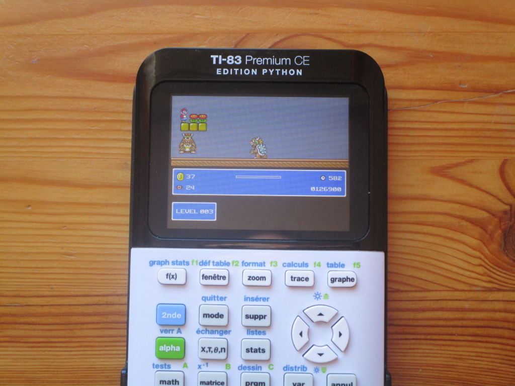 TI-83 Premium CE + Sina's pack