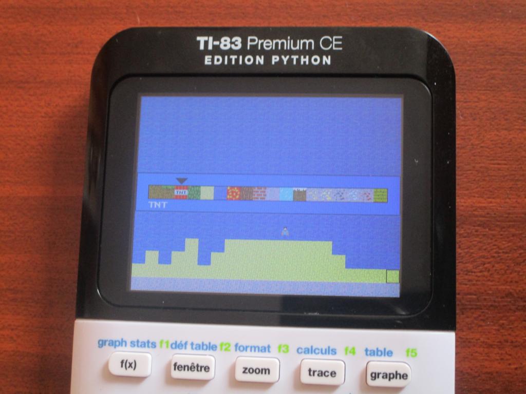 TI-83 Premium CE + Minecraft 2D
