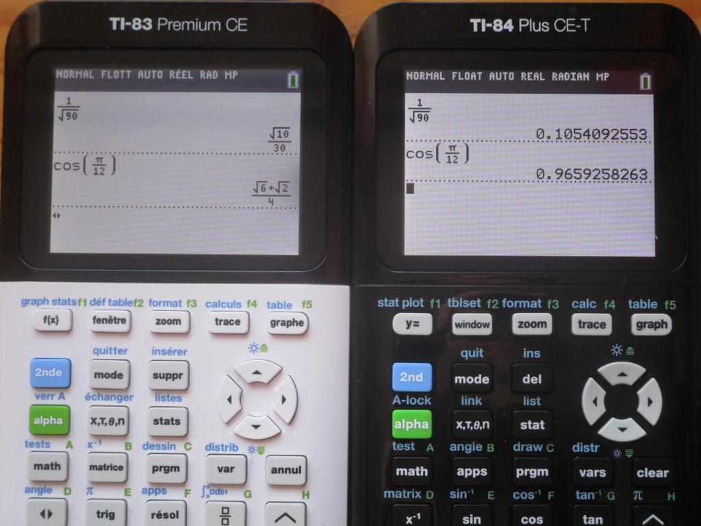 TI-83 Premium CE + TI-84 Plus CE
