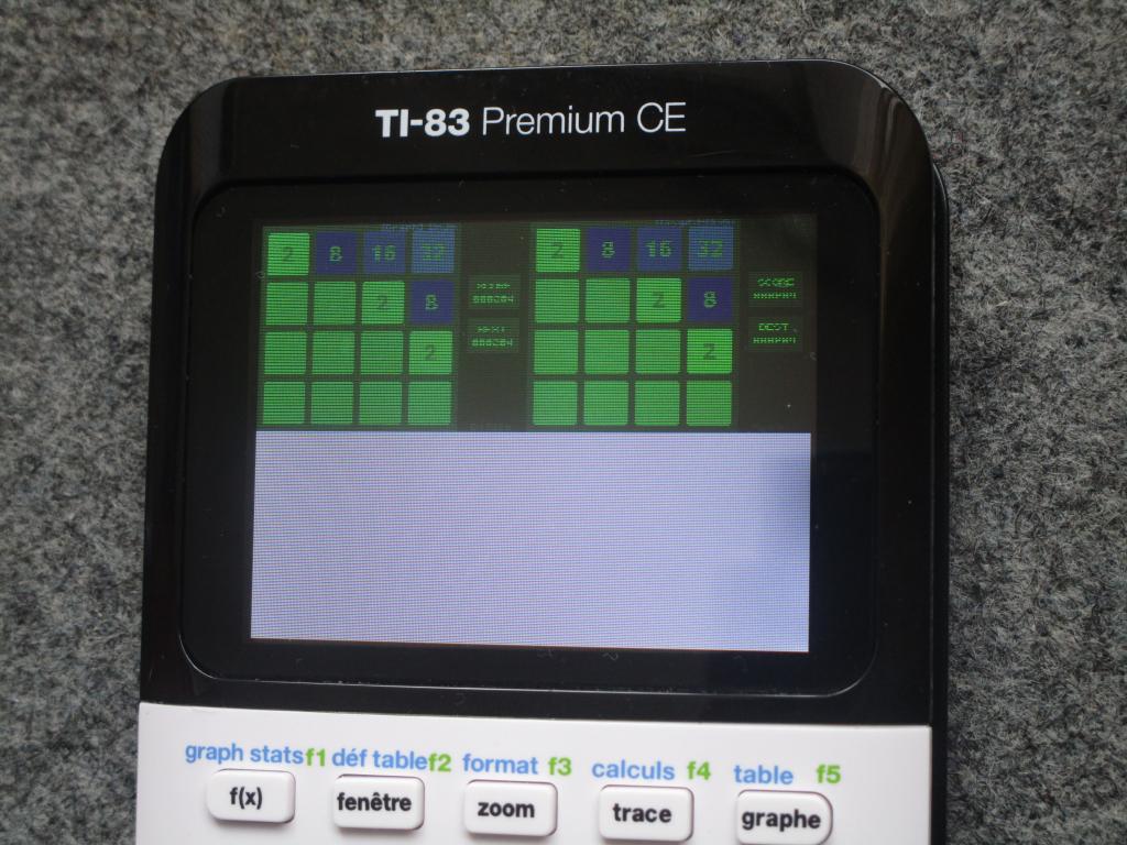TI-83 Premium CE + arTIfiCE 1.0