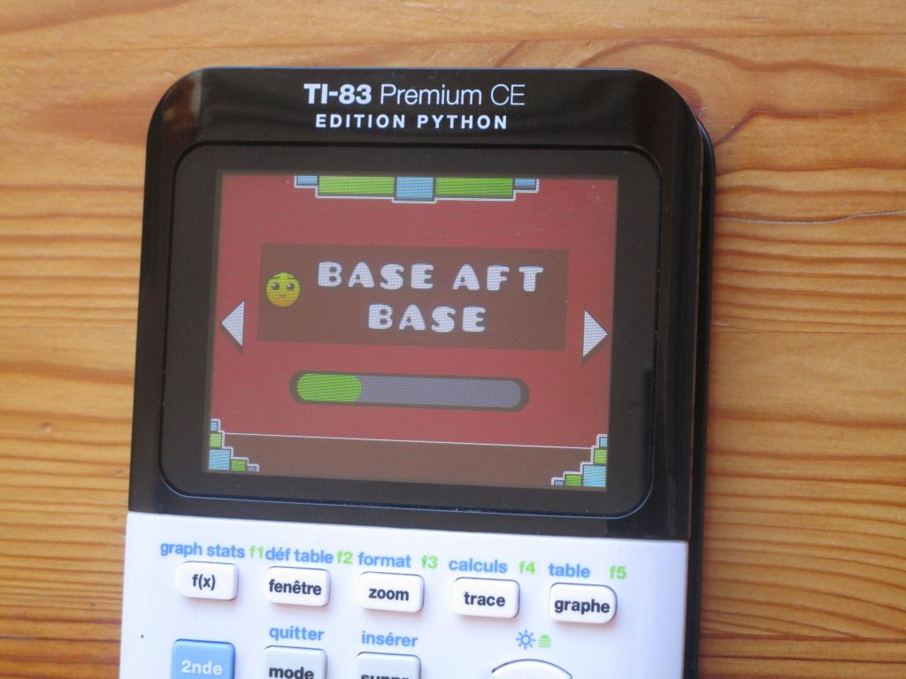 TI-83PCE + GD & Base after base