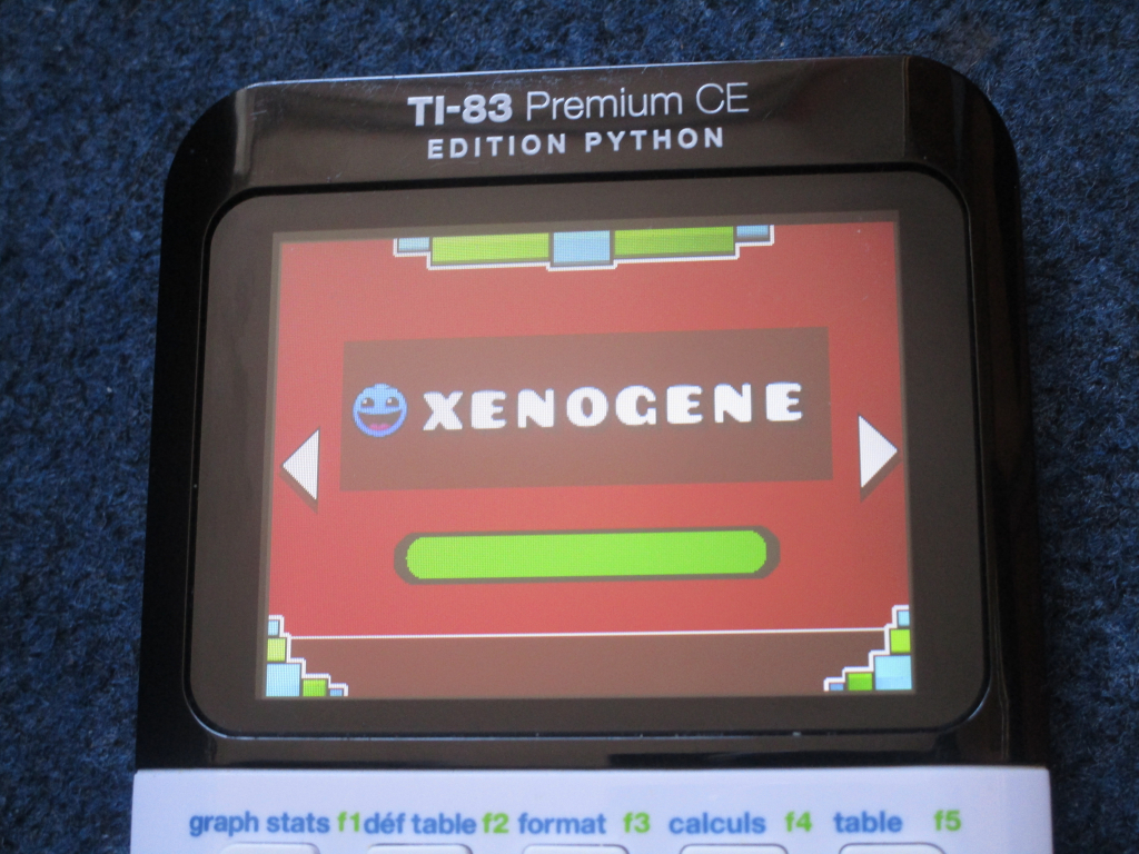 TI-83PCE + GDash & Xenogenesis