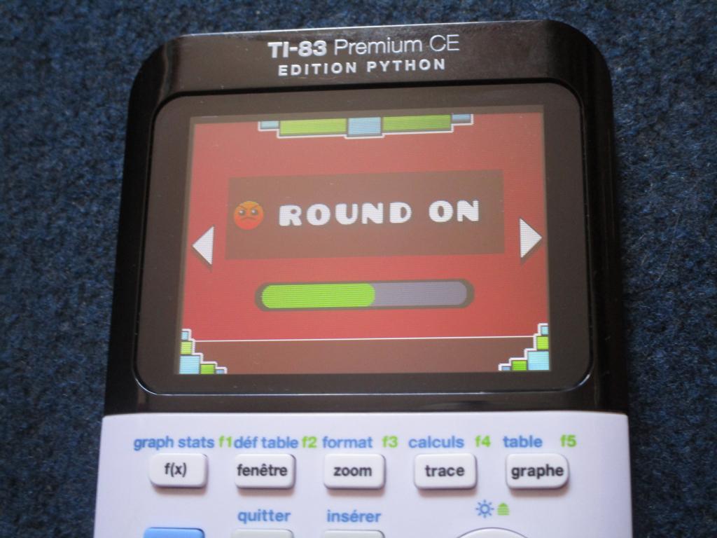 TI-83PCE + GDash & Round On
