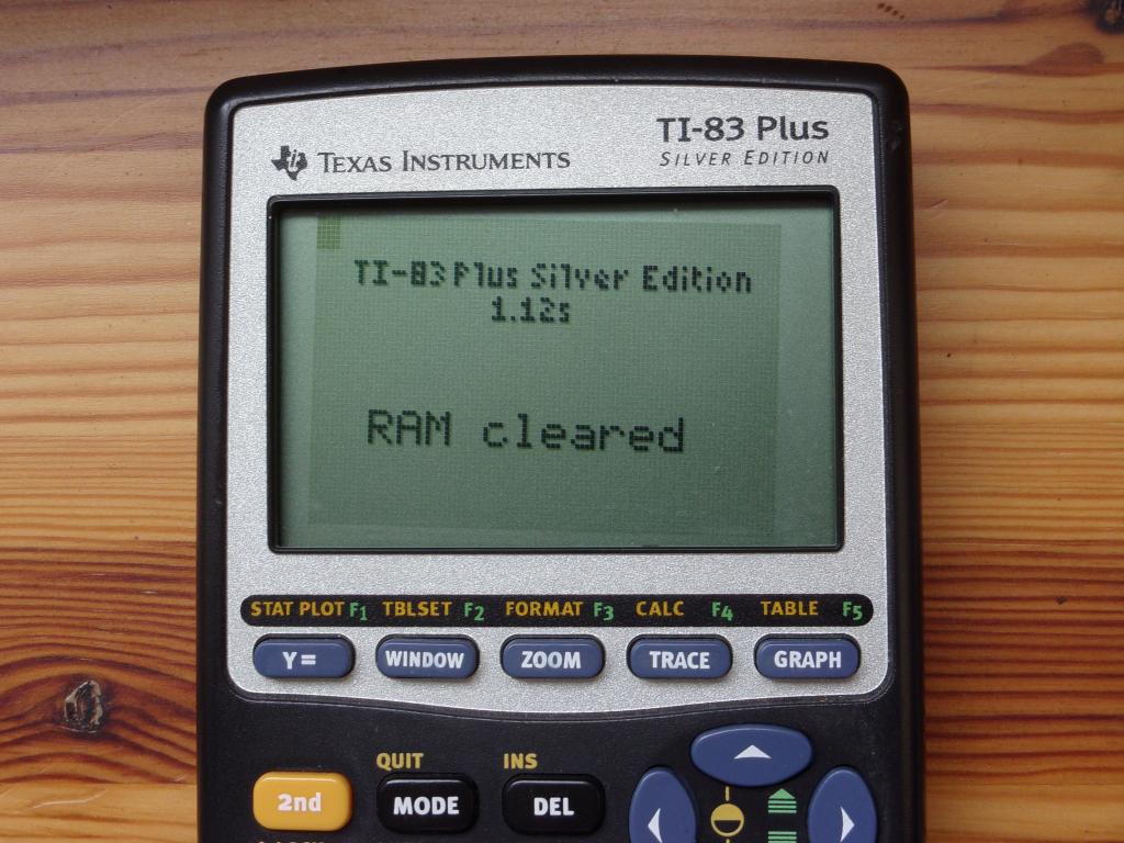 TI-83 Plus SE + OS 1.12s