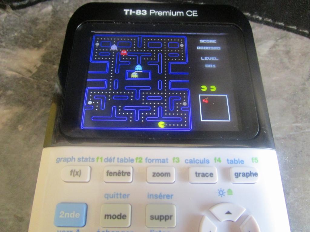 TI-83 Premium CE + Pac-Man
