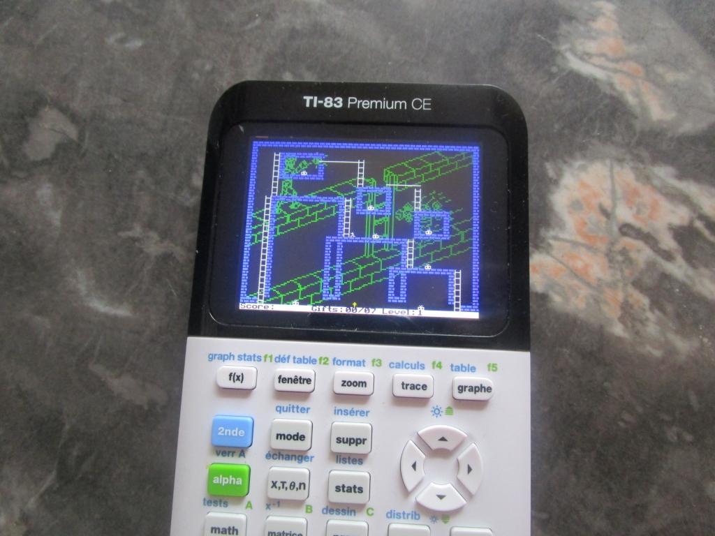 TI-83 Premium CE + Androides lv1