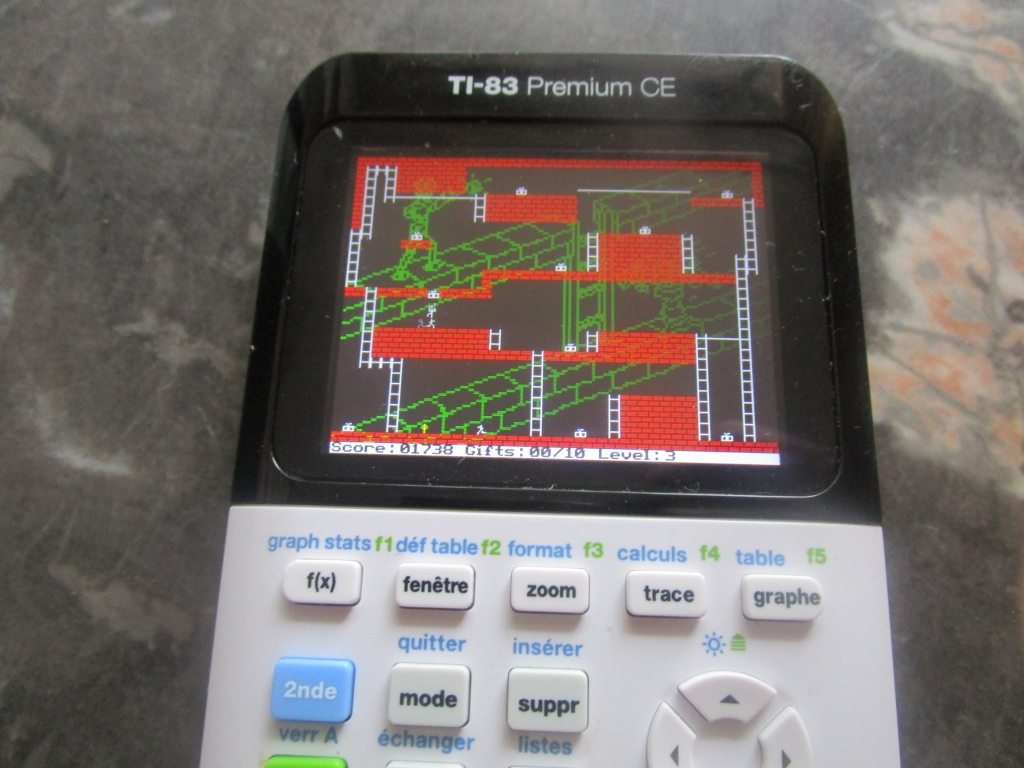 TI-83 Premium CE + Androides lv3